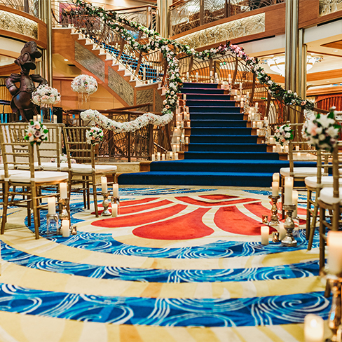 Disney Cruise Line Wedding Disney S Fairy Tale Weddings